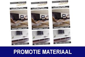 Promotie materiaal